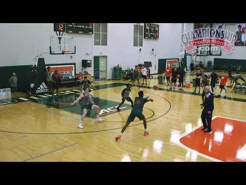 "Jim Larranaga's ""UCLA Drill"" for Shooting & Defense at Basketball Practice!"